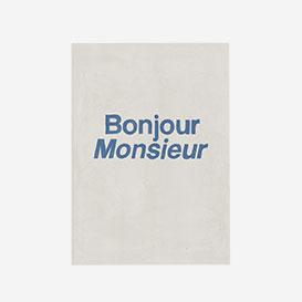 Bonjour Monsieur Greeting Card>     </noscript> </div>          <div class=