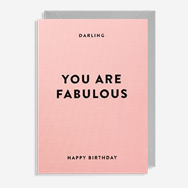 You Are Fabulous Birthday Grußkarte>     </noscript> </div>          <div class=