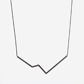 Necklace Angle No. 3 Black - Black>     </noscript> </div>          <div class=