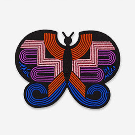 Patch Monarch Butterfly - Bügel-Aufnäher>     </noscript> </div>          <div class=