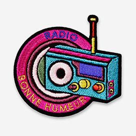 Patch Radio Bonne Humeur - Bügel-Aufnäher>     </noscript> </div>          <div class=