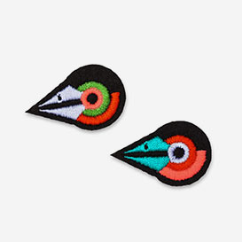 Patches Mini Birdies - Bügel-Aufnäher>     </noscript> </div>          <div class=