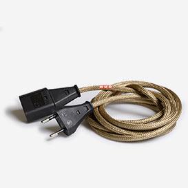 Textil Covered Extension Cord – Antique Bronze>     </noscript> </div>          <div class=