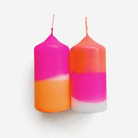 Dip Dye Neon Fairy Tale – Set of 2 Pillar Candles>     </noscript> </div>          <div class=