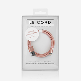 Solid Rose Gold Ladekabel>     </noscript> </div>          <div class=