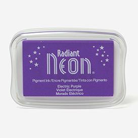 Radiant Neon Electric Purple Stempelkissen>     </noscript> </div>          <div class=