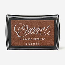 Encore Ultimate Metallic Bronze Ink Pad>     </noscript> </div>          <div class=