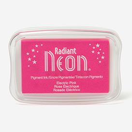 Radiant Neon Electric Pink Stempelkissen>     </noscript> </div>          <div class=