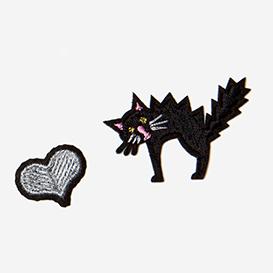 Love Cats Bügel-Aufnäher>     </noscript> </div>          <div class=