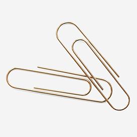 1 Büroklammer 75mm - Gold>     </noscript> </div>          <div class=