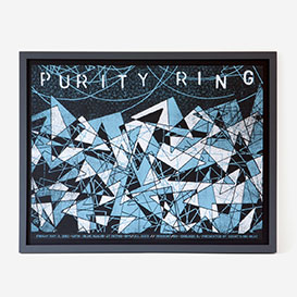 Purity Ring Siebdruck Gigposter>     </noscript> </div>          <div class=