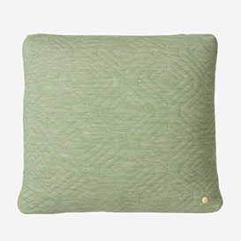 Quilt Cushion 45 × 45 cm - Green>     </noscript> </div>          <div class=