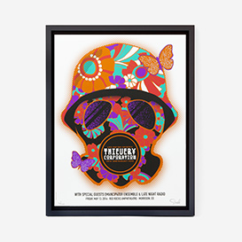 Thievery Corporation gasmask Screenprint Gigposter>     </noscript> </div>          <div class=