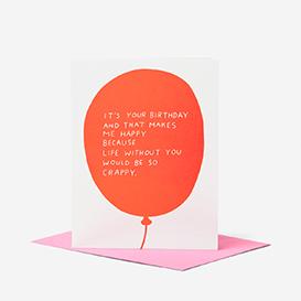 Birthday Balloon Grußkarte>     </noscript> </div>          <div class=