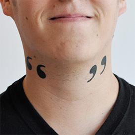 Temporary Tattoo Air Quotes>     </noscript> </div>          <div class=