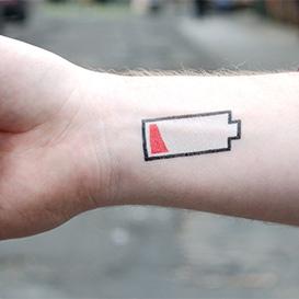 Temporary Tattoo Low Battery>     </noscript> </div>          <div class=