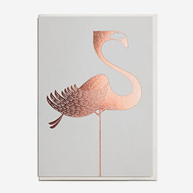 Foil Flamingo Greeting Card>     </noscript> </div>          <div class=