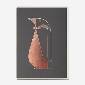 Foil Penguin Grußkarte>     </noscript> </div>          <div class=