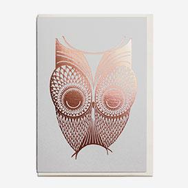 Foil Owl Grußkarte>     </noscript> </div>          <div class=