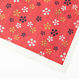 Yuzen Paper Flower pattern red>     </noscript> </div>          <div class=