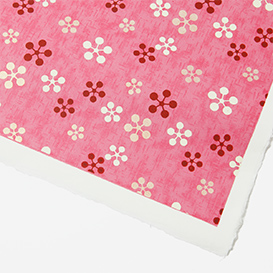 Yuzen-Papier Blumenmuster pink>     </noscript> </div>          <div class=