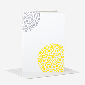 Flowers Yellow Grey Greeting Card>     </noscript> </div>          <div class=