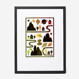 Mountains Linocut Print>     </noscript> </div>          <div class=