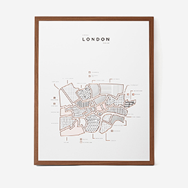 Visual Guide London Letterpress Print>     </noscript> </div>          <div class=