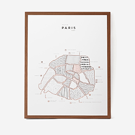 Visual Guide Paris Letterpress Druck>     </noscript> </div>          <div class=