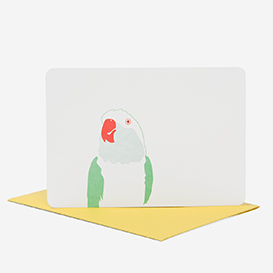 Greeting Card parrot yellow>     </noscript> </div>          <div class=