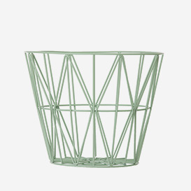 Wire Basket Medium Mint>     </noscript> </div>          <div class=
