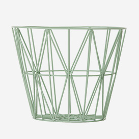 Wire Basket Large Mint>     </noscript> </div>          <div class=