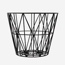 Wire Basket Large Black>     </noscript> </div>          <div class=