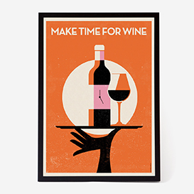 Make Time For Wine Siebdruck>     </noscript> </div>          <div class=