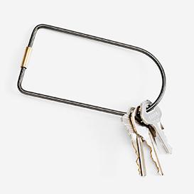 Contour Key Ring Bend - Black>     </noscript> </div>          <div class=