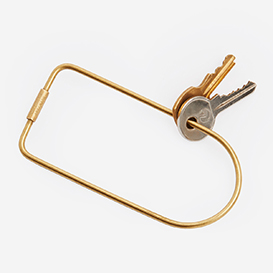 Contour Key Ring Bend - Brass>     </noscript> </div>          <div class=