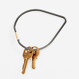 Contour Key Ring Drop - Black>     </noscript> </div>          <div class=