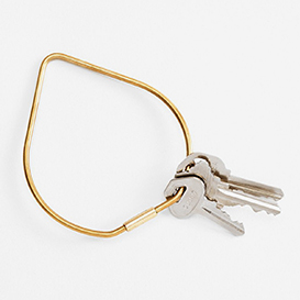 Contour Key Ring Drop - Brass>     </noscript> </div>          <div class=