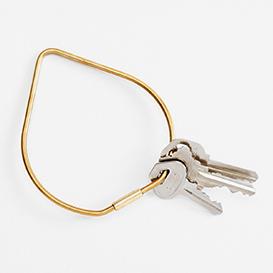 Contour Key Ring Drop - Brass>     </noscript> </div>          <div class=
