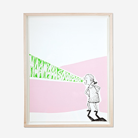 Mama Sofort! (Mom - Now!) Pink Screenprint Poster>     </noscript> </div>          <div class=