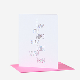 More Than Being 17 Greeting Card>     </noscript> </div>          <div class=