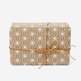Asanoha White Gift Wrapping Paper>     </noscript> </div>          <div class=