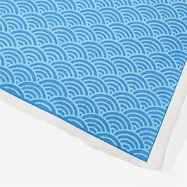 Yuzen Paper Light Blue Waves>     </noscript> </div>          <div class=