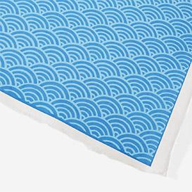 Yuzen-Papier Hellblaue Wellen>     </noscript> </div>          <div class=