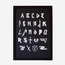 Metal-ABC Screenprint Poster>     </noscript> </div>          <div class=