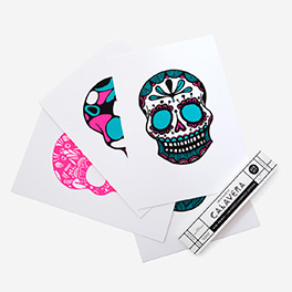 Calavera Pink Mint Screenprint Set>     </noscript> </div>          <div class=