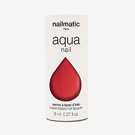 Aqua Poppy - Coral Red Waterbased Nail Polish>     </noscript> </div>          <div class=