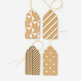 Assorted Kraft Pastel Gift Tags>     </noscript> </div>          <div class=