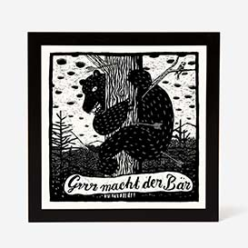 Bear Screenprint>     </noscript> </div>          <div class=