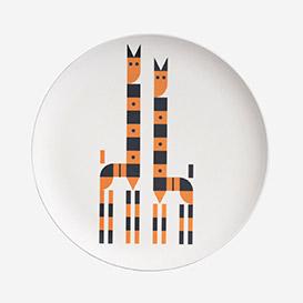 Bamboo Plate - Giraffe>     </noscript> </div>          <div class=